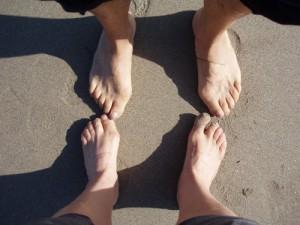 foto de pies